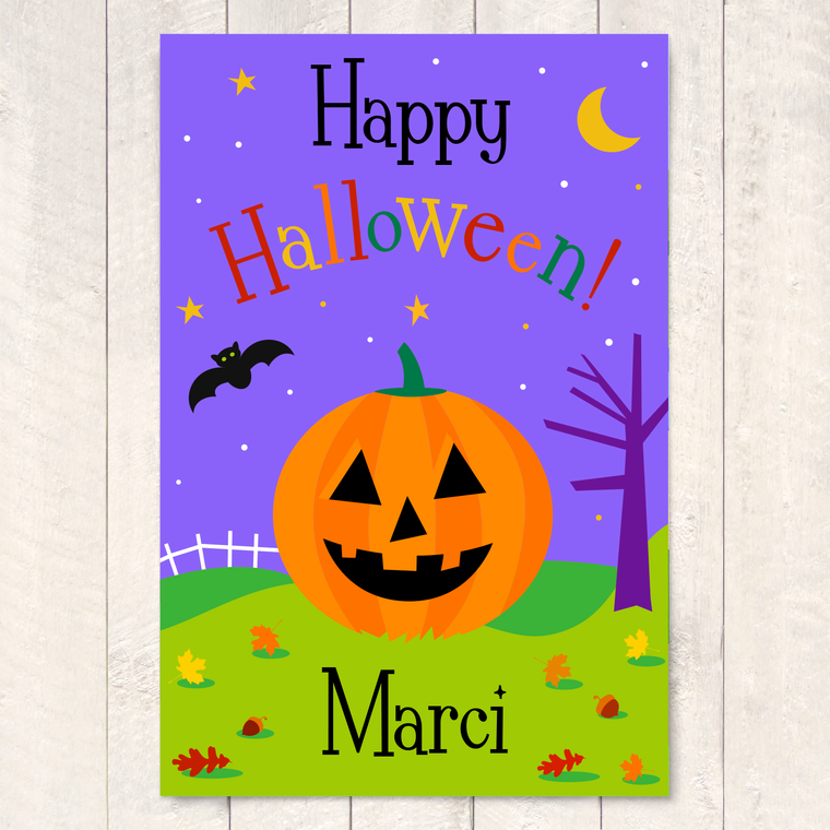 Halloween Personalized Art Print