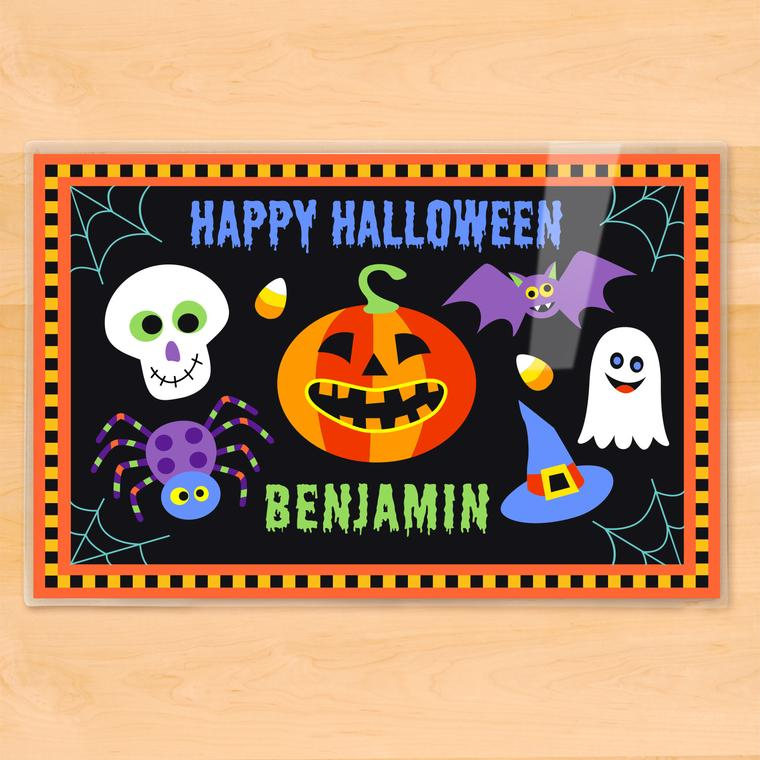 Halloween Personalized Kids Placemat
