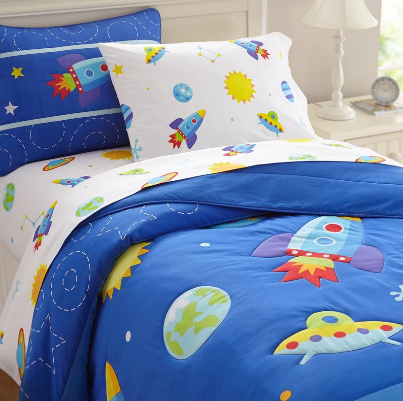 Out of the World Comforter Set with Sheets - (Twin Size Only)
