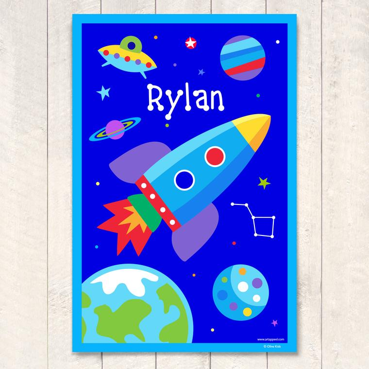 Out of this World Personalized Art Print