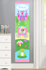 Princess (Dark Skin) Personalized Kids Canvas Growth Chart