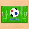 Soccer Personalized Kids Placemat