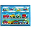 Train, Planes and Trucks Kids Printed Rug