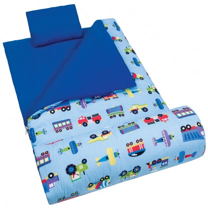 Trains, Planes and Trucks Kids Sleeping Bag