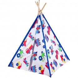 Trains, Planes and Trucks TeePee