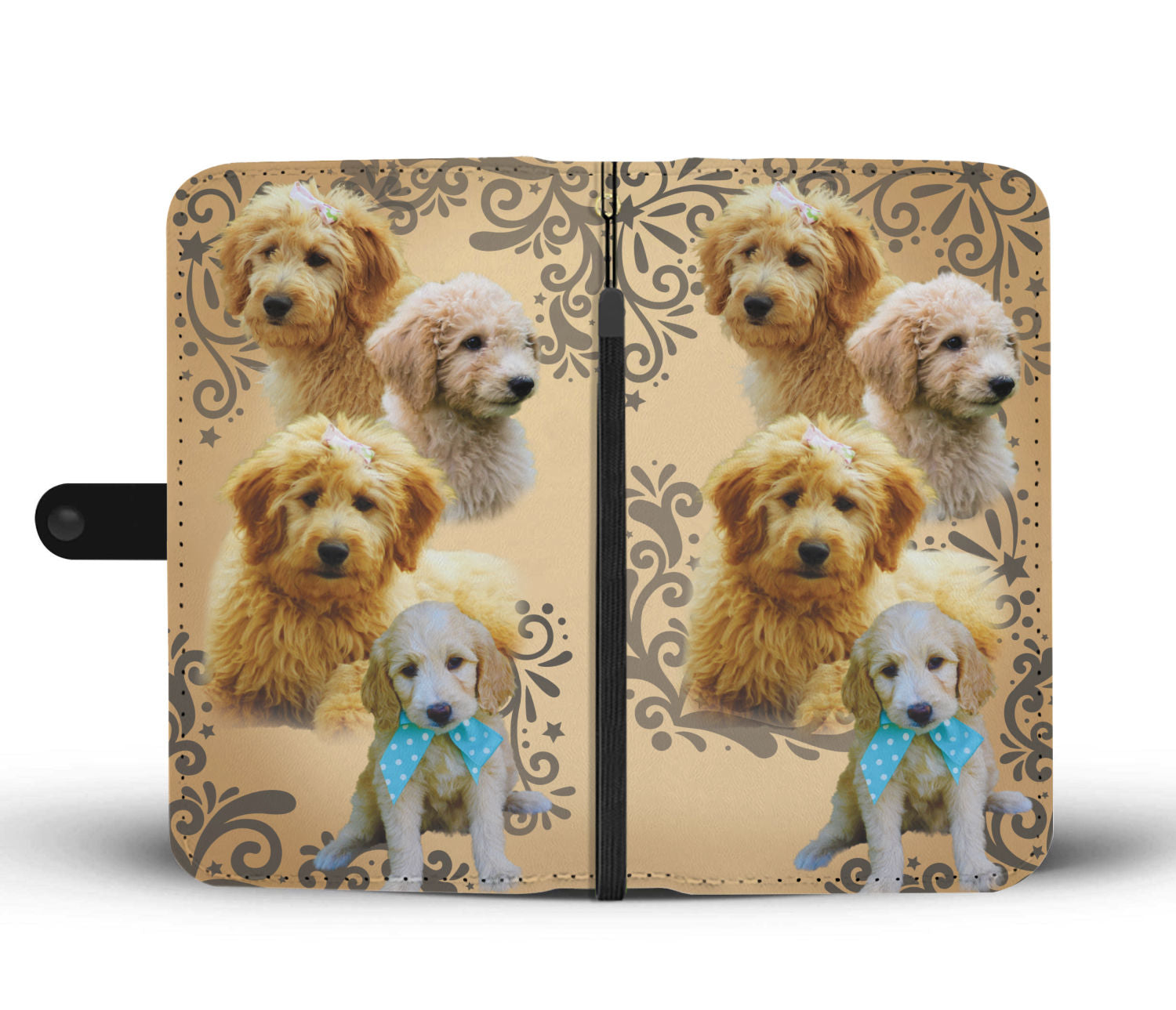 Goldendoodle Wallet Phone Case