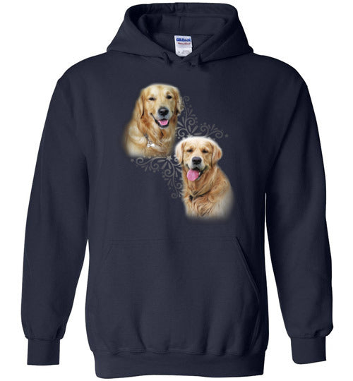 Awesome Golden Retriever Custom Designed Hoodie