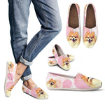 Cute Pomeranian Casual Shoes