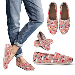 Jack Russell Floral Pink Casual Shoes