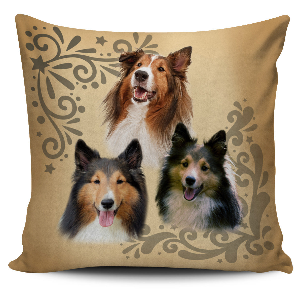 Cute Sheltie Pillow