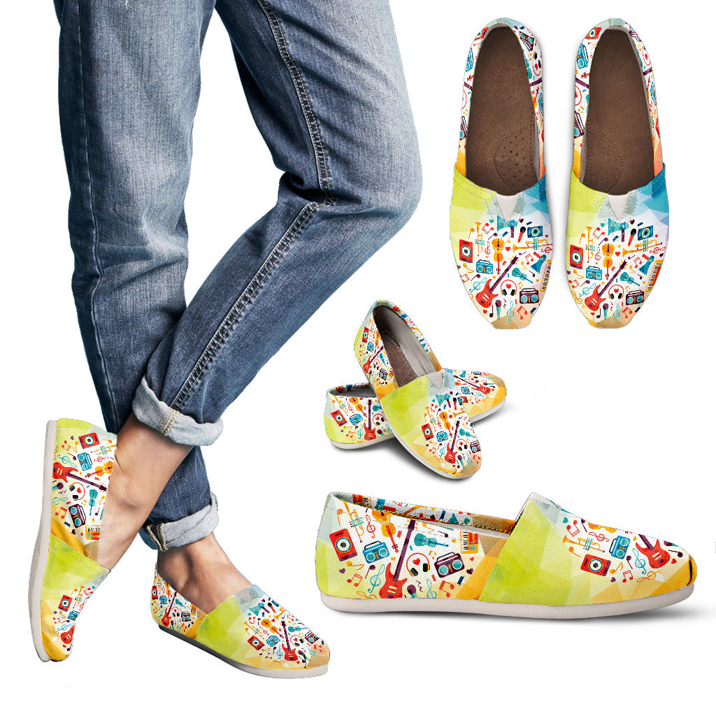 Awesome Music Lover Casual Shoes