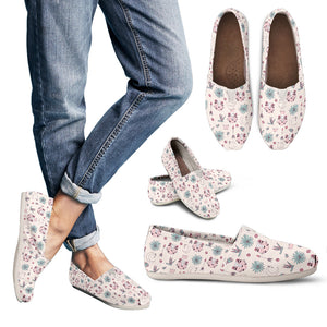 Beautiful Cat Pattern Casual Shoes