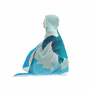 Awesome Sea Turtle Hooded Blanket
