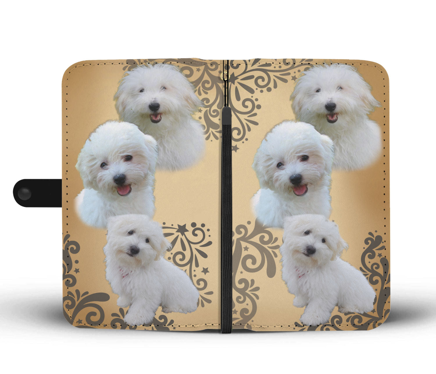 Coton de Tulear Wallet Phone Case