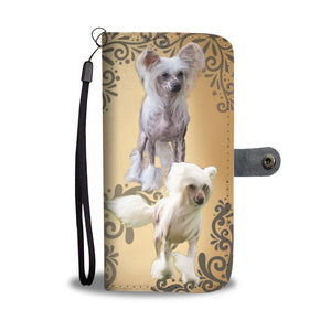 Chinese Crested Wallet Phone Case
