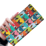 Beautiful Boston Terrier Pattern Women's Wallet