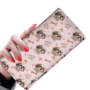 Beautiful Shih Tzu Pattern Women's Wallet