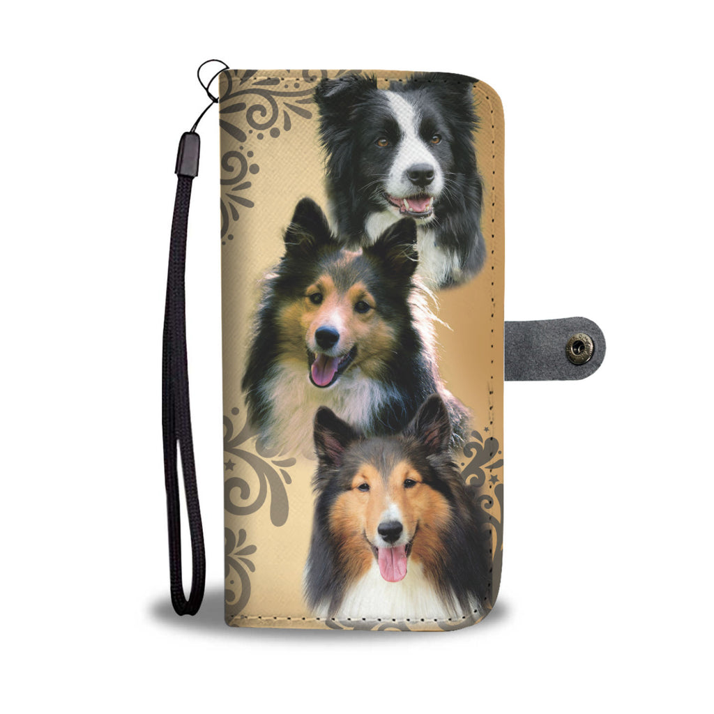 Sheltie (Shetland Sheepdog) Wallet Phone Case