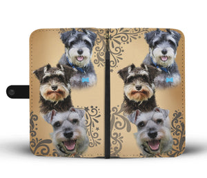 Schnauzer Wallet Phone Case