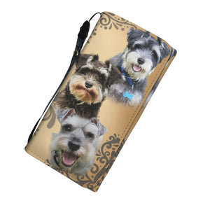 Cute Schnauzer Women's Wallet
