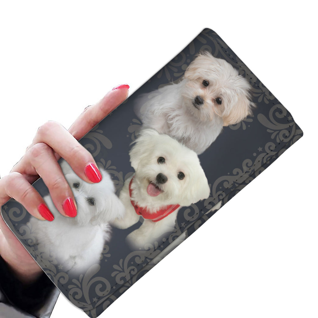Cut Maltese Women's Wallet