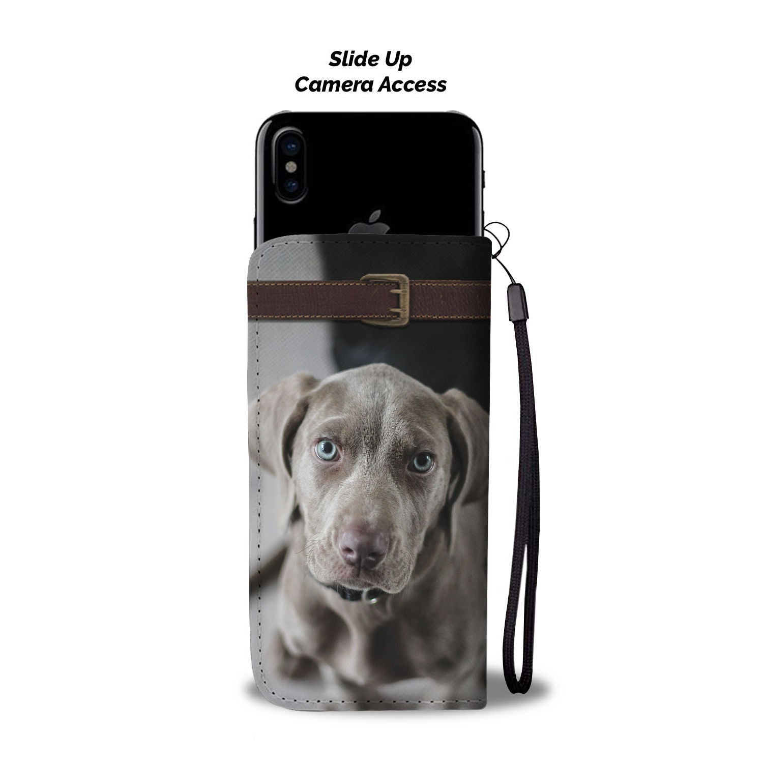 Weimaraner Wallet Phone Case