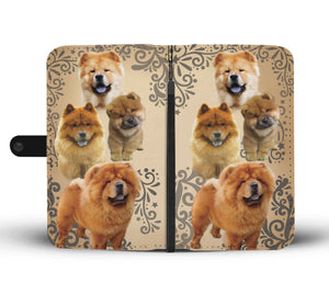 Chow Chow Dog Wallet Phone Case