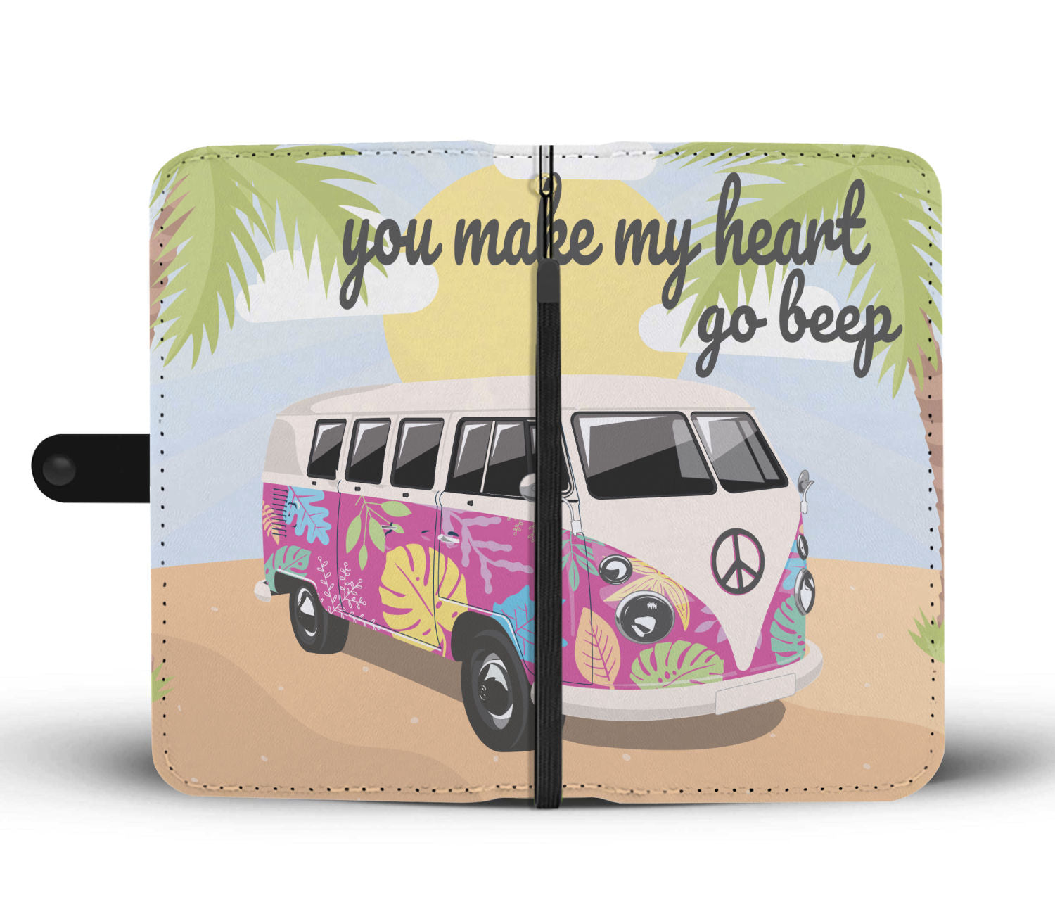 Volkswagen Type 2 Van Bus Wallet Phone Case