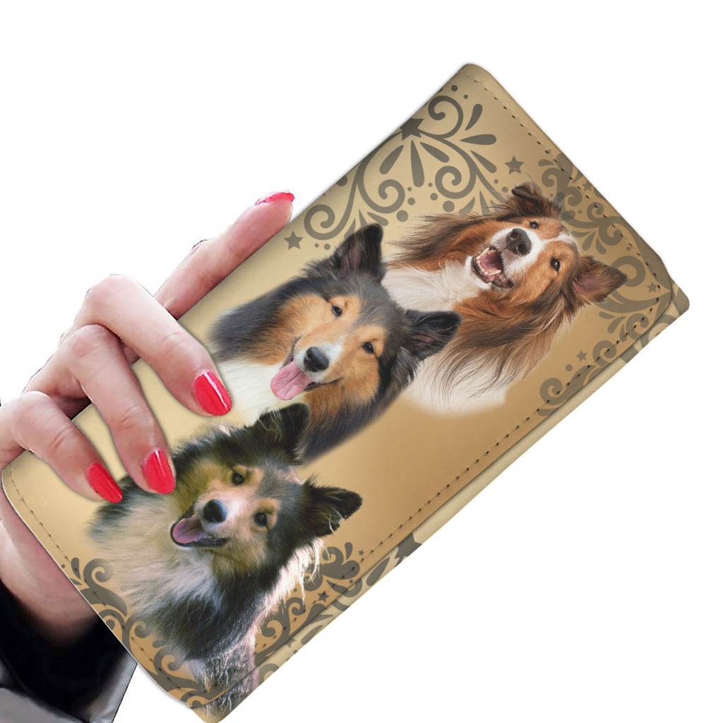 Beautiful Cute Sheltie Women's Wallet