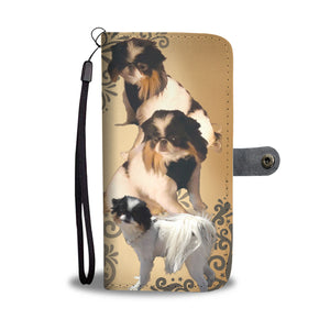 Custom Designed Wallet Phone Case (Catriona)