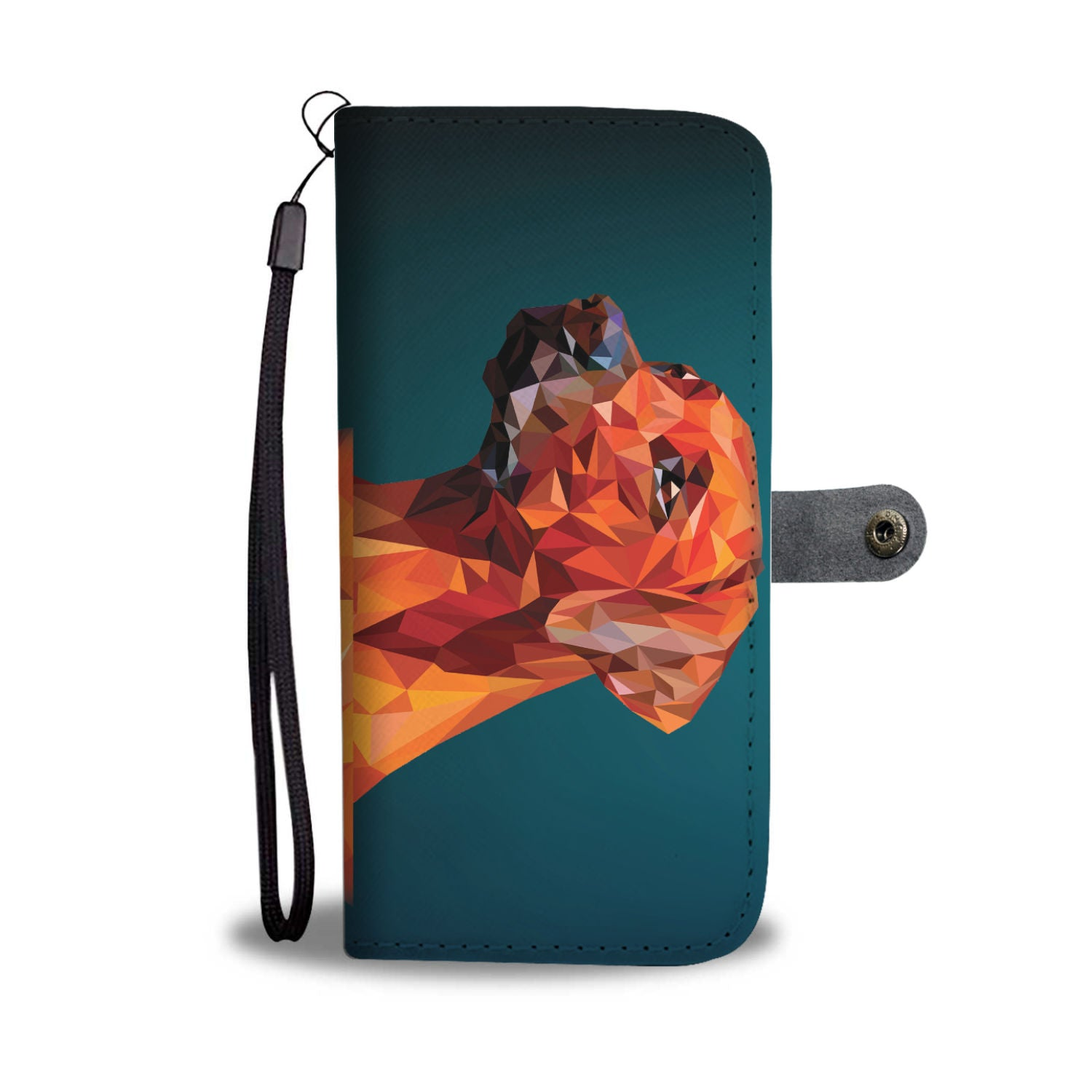 Beautiful Rhodesian Ridgeback Dog Wallet Phone Case