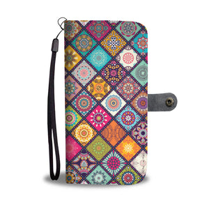 Beautiful Pattern Wallet Phone Case