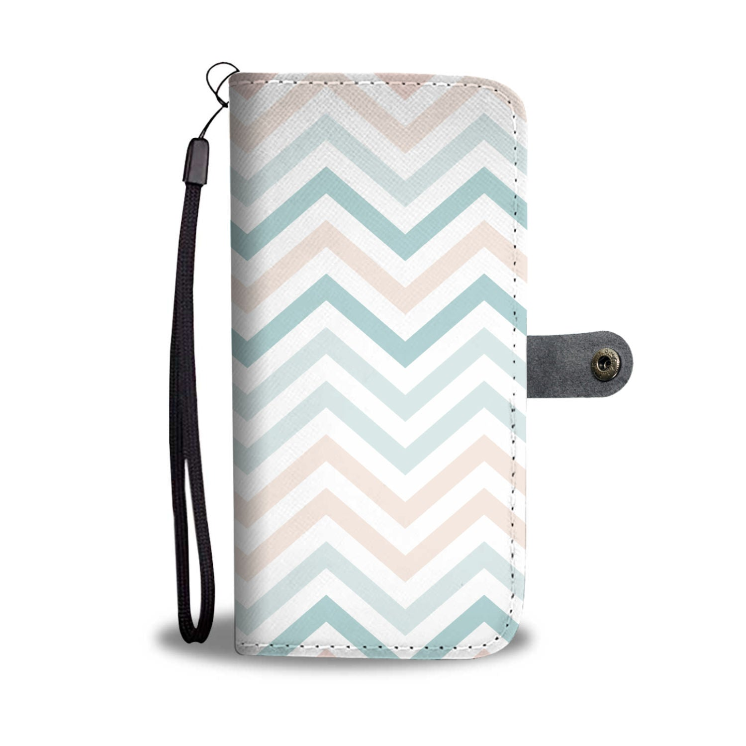Beautiful Waves Pattern Wallet Phone Case