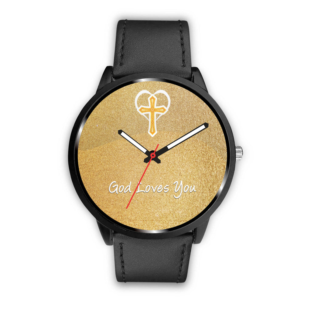 "Beautiful Custom Designed ""God Loves You"" Watch"