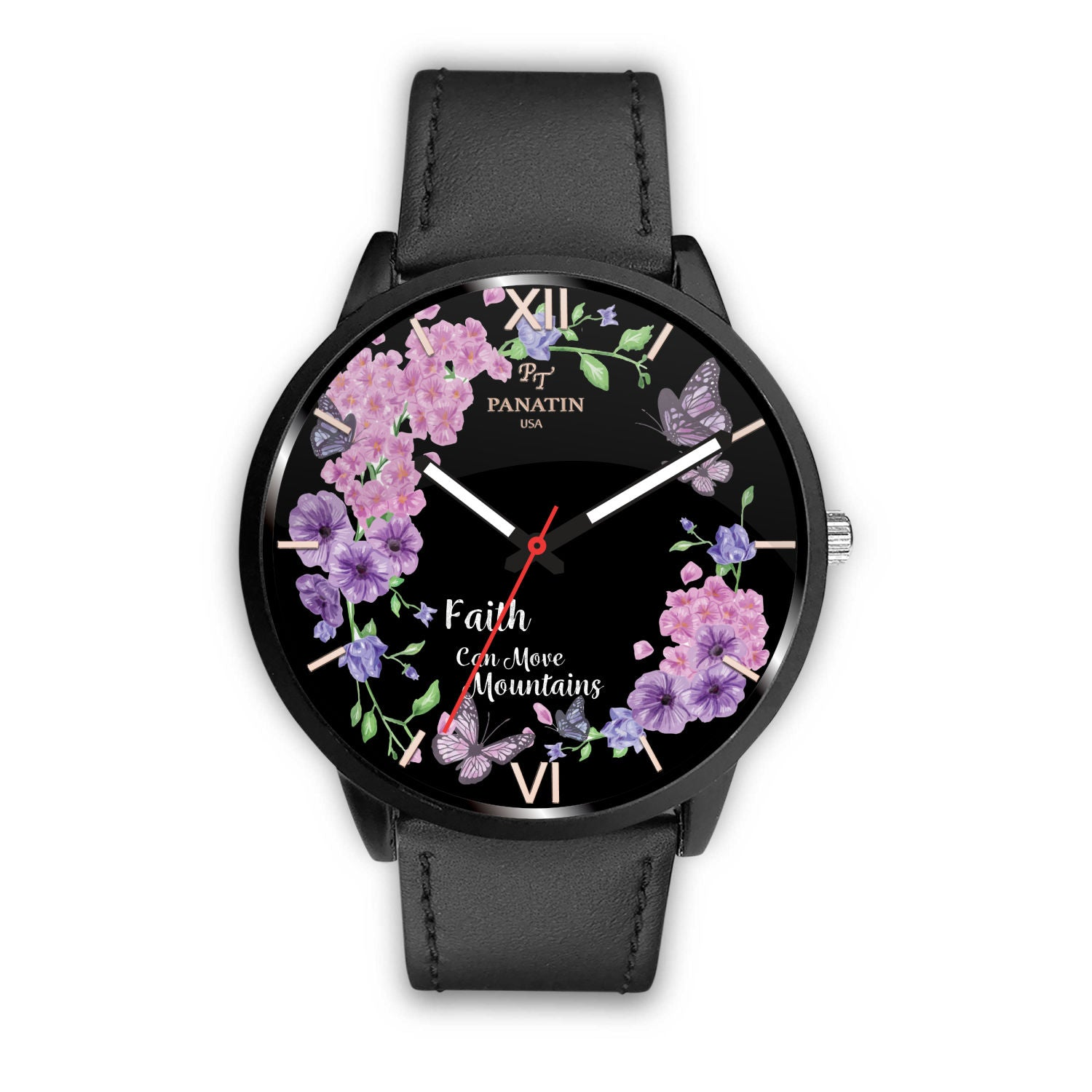 Beautiful Custom Designed Butterfly Watch