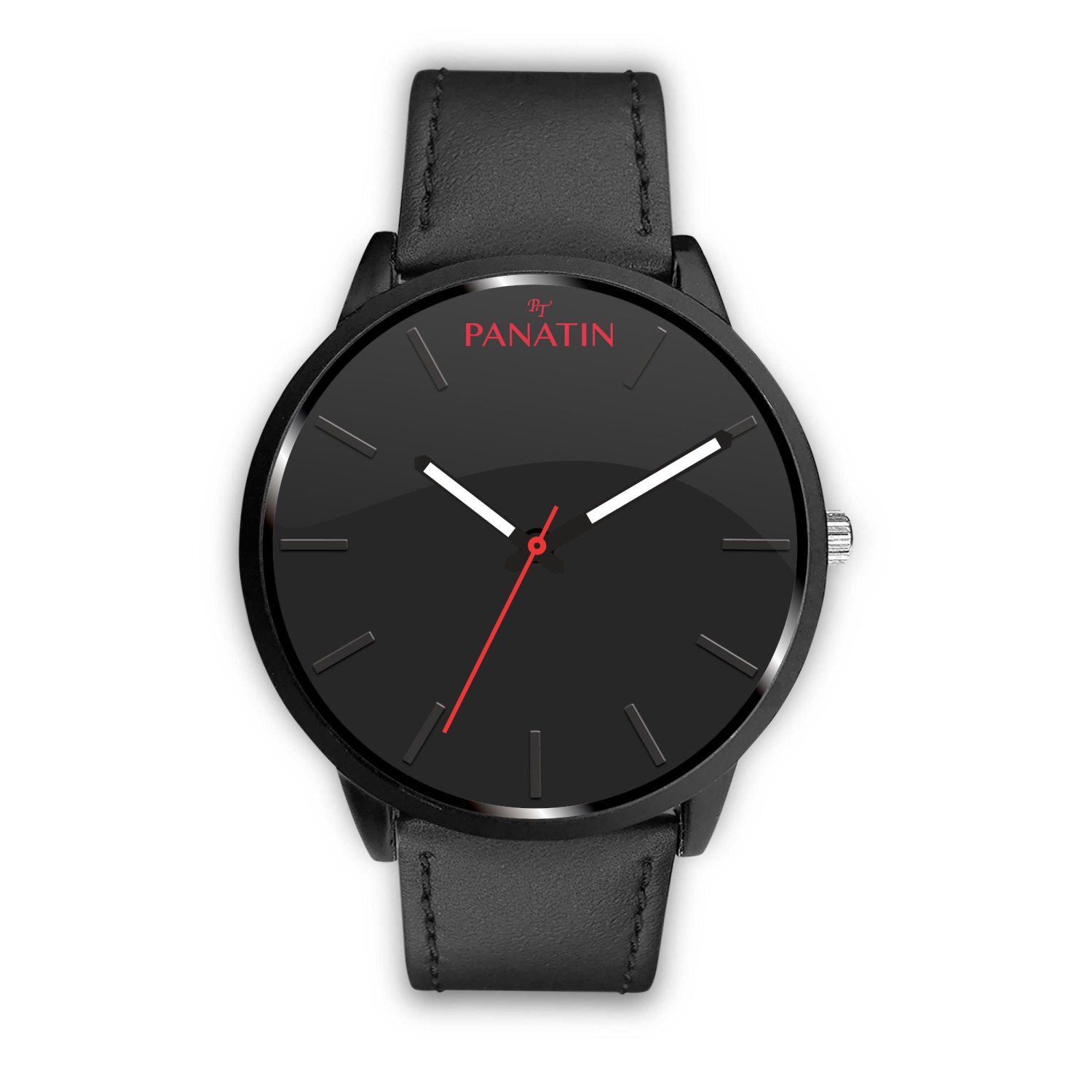 Awesome Classic Black PANATIN Watch