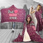 Best Nana Ever Premium Hooded Blanket
