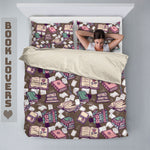 Book Lovers Bedding