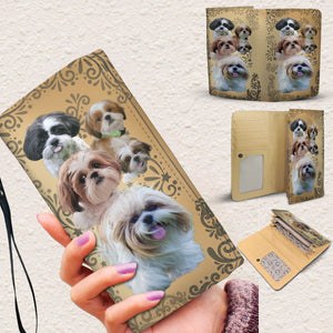Lovely Shih Tzu Women's Wallet