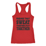 Friend That Sweat Together Workout Tanks