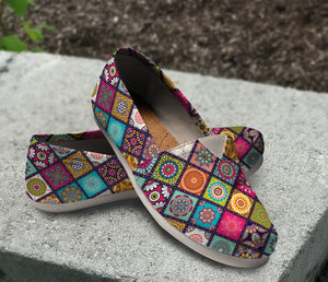 Beautiful Flowers Pattern Casual Shoes