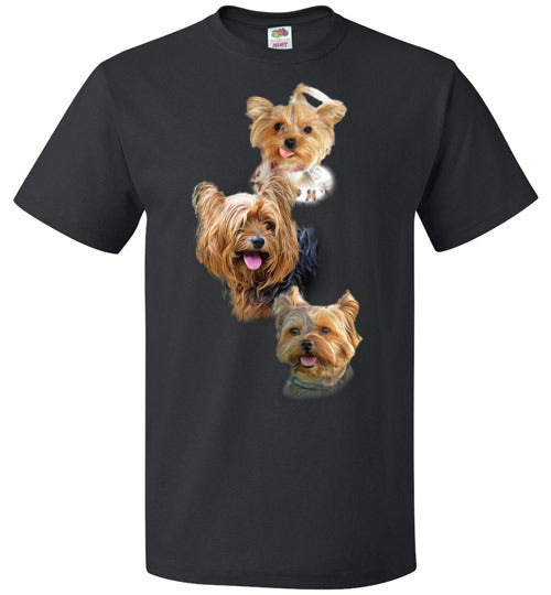 Love Yorkies - Unisex T-Shirt