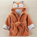 Lovely Animal Hooded Bath Towel Robe for Baby