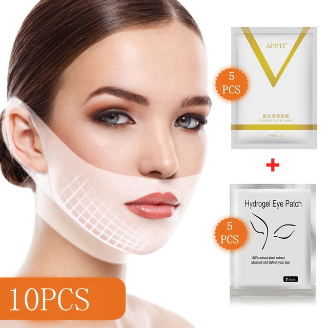 V-Chin Tighten Lifting Mask