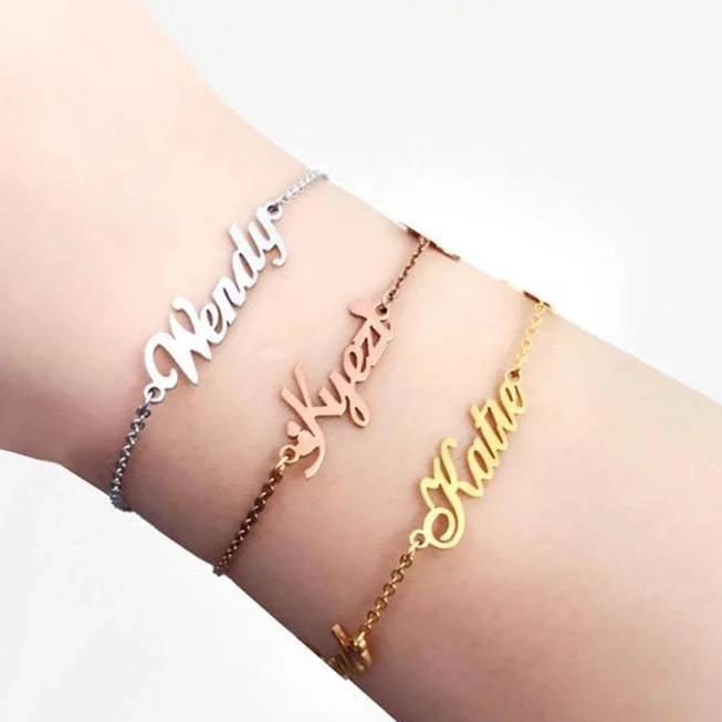 Write Your Name Bracelet