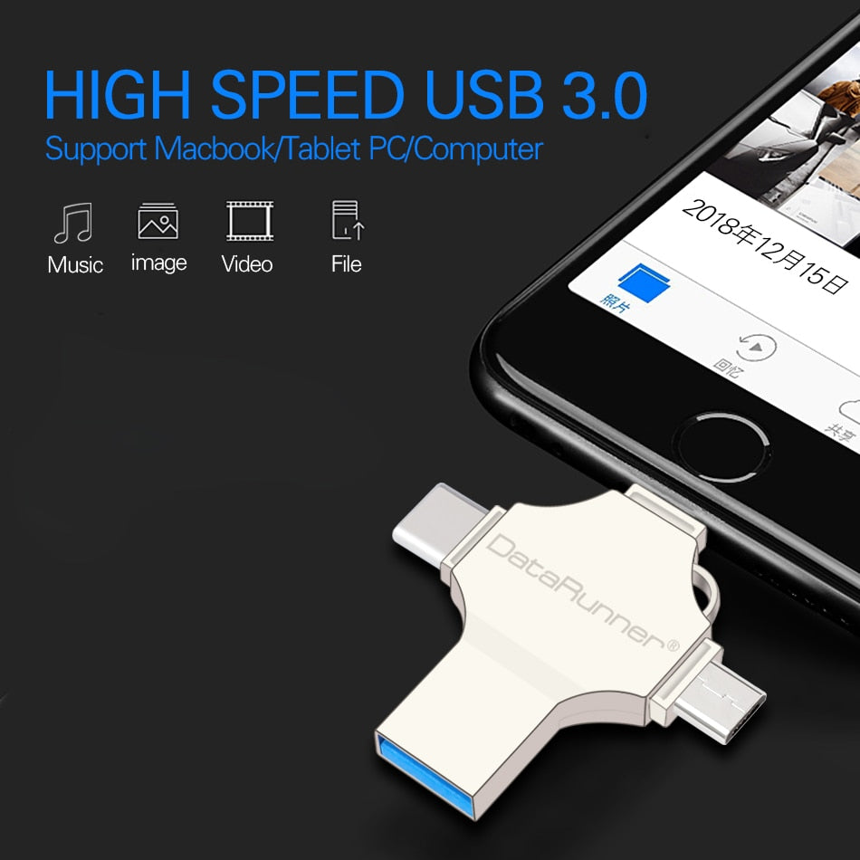 4-in-1 USB Flash Drive