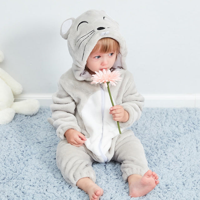 Cute Animal Baby Rompers