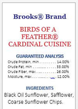 Birds of a Feather Cardinals' Cuisine 20 lb. Bag
