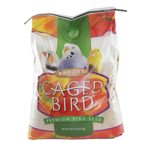 All Natural Deluxe Parakeet Blend Bird Seed 50 lb. Bag