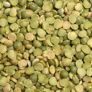 Raw Grains Green Split Peas 25 lb. Bag